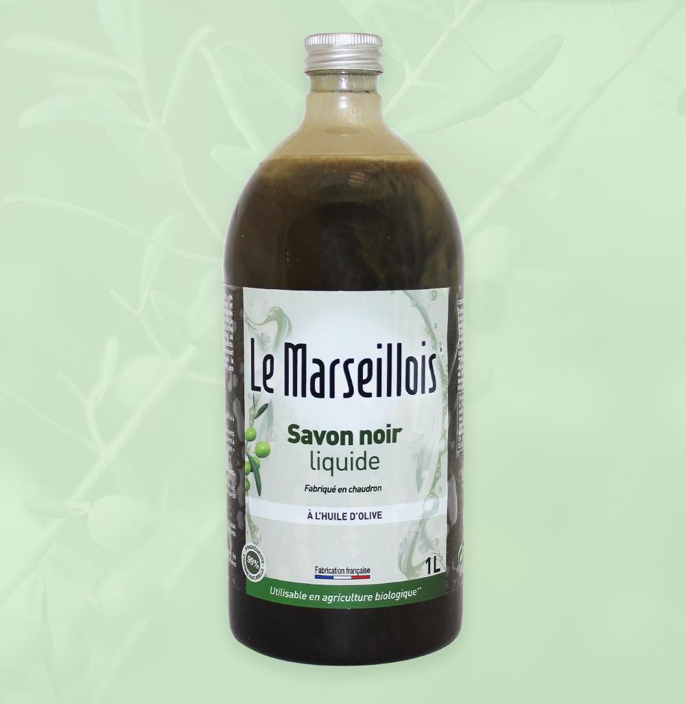 création étiquette création charte graphique le marseillois savon noir