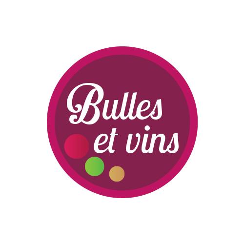 création graphique logo boutique bulles et vins