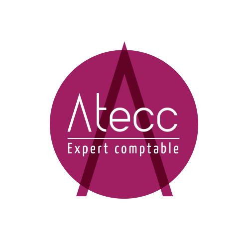 création graphique logo comptable rhone alpes atecc