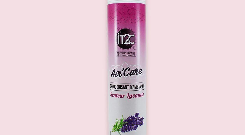 Création des étiquettes produits IT2C - Désodorisant