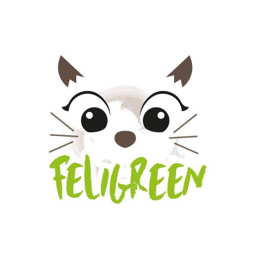 création logo marque animalerie feligreen