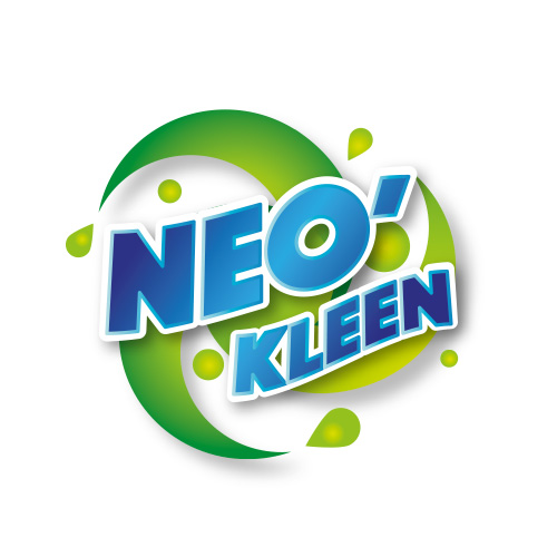 création logo marque produits entretien linge neo kleen
